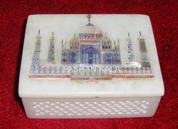 Marble Taj Mahal Jewelry Box