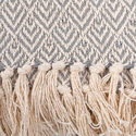 Custom Woven Cotton Throw Blankets