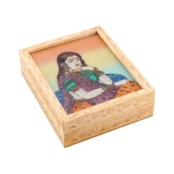 Gemstone Painting Products Gemstone Painting Jewellery Box Wooden