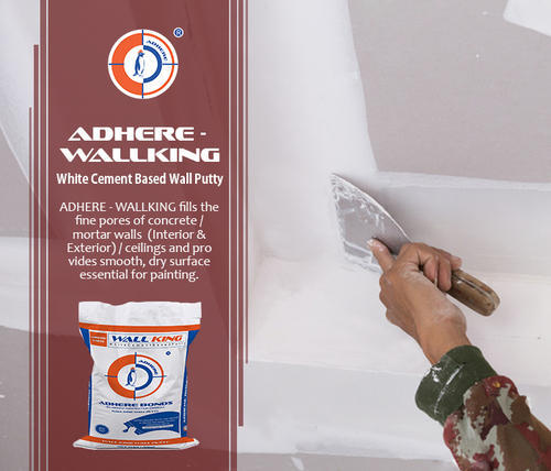 Wall Putty Cement Based Wall King Wall Putty