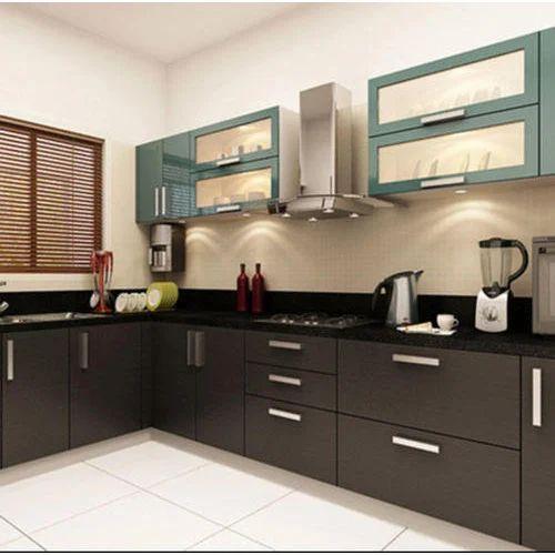 Kitchen Set L Shape Kitchen Set Manufacturer From Panvel