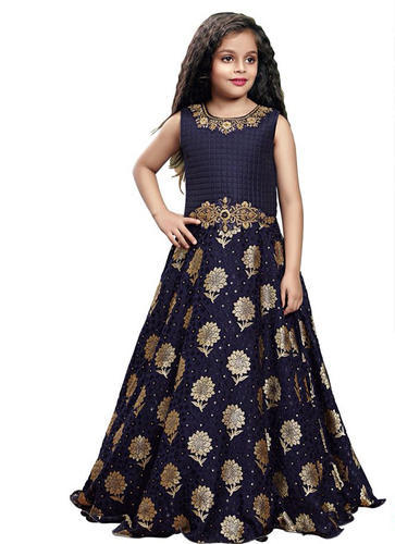dec611f60 Kids Wear Wholesale Collection - Trendy Indian Girls Gown Buy With M ...