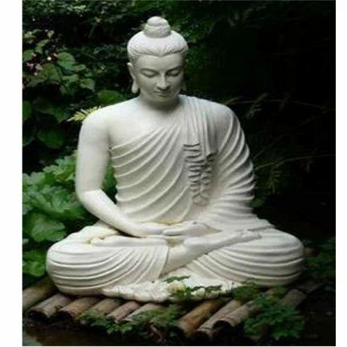 Lord Buddha Statue Garden Flower Pot Manufacturer From