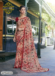 Classy Printed Saree