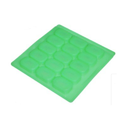 30gms - Rectangular - 15Cavities - Silicone Soap Molds.