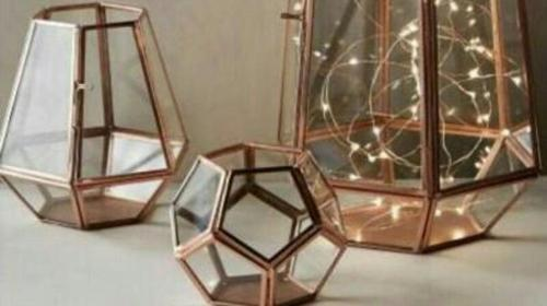 Mixed Iron Glass Box Glass Terrariums Wholesale Trader From Faridabad