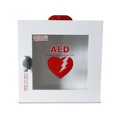White AED Cabinet