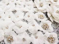 Chiffon Embroidery Work