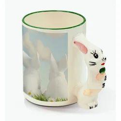 11oz Animal Mug-Rabbit