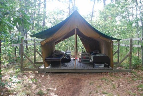 Luxury Wooden Tent Wooden Platform Tents Exporter From