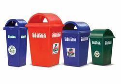Primary Rectangular Waste Bins