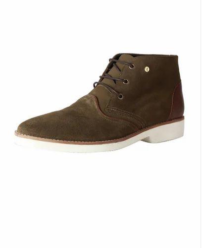 Men Lace-Up Shoes - Van Heusen Olive Casual Shoes Authorized Wholesale  Dealer from Bengaluru 8984c9b21
