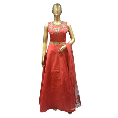 4c6d3372384 Ladies Gowns - Sleeveless Long Gown Manufacturer from Delhi