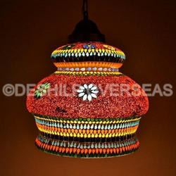 Mosaic Hanging Chandelier