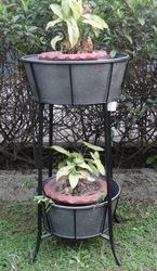 Galvanized Indoor- Outdoor Planter