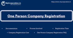 Incorporation of OPC (One Person Company)