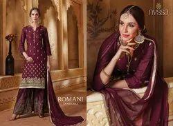 Nyssa Rayon Sharara Suit