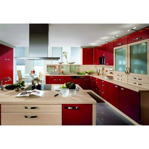 Designer Modular Kitchen Wardrobe