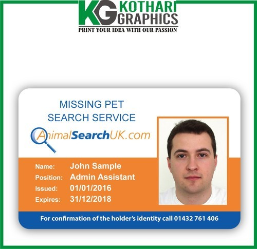 Zirakpur Pvc Printing Card Service Services From Manufacturer Id - Cards