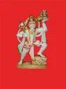 Colorful Hanuman With Gadha
