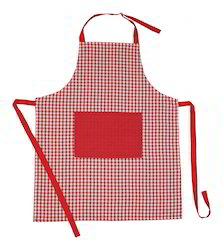 Mini Check Kitchen Apron