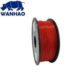 Wanhao Transparent Red ABS 1.75mm 3D Printer Filament