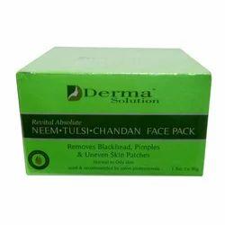 Derma Solution Revital Absolute Neem Tulsi Chandan Face Pack
