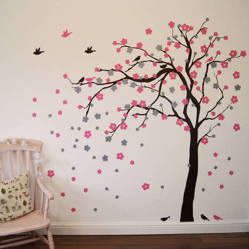 wall stickers - floral wall sticker manufacturer from lucknow