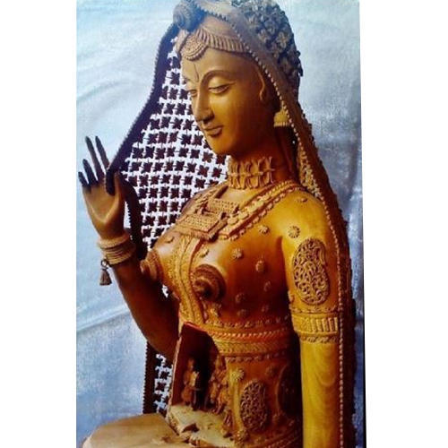 Sandalwood Exclusive Handicrafts Sandalwood Doll Manufacturer From