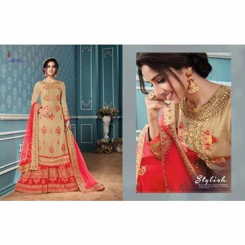d566ac3f0d7 Ladies Bridal Suits - Ladies Embroidered Long Bridal Suits ...
