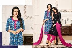 Round Neck Origma Suit Salwar Fabric