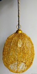 Brass Lamp Hanging