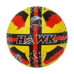 Rubberized Hawk Y/B/R Football