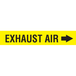 Exhaust Air Duct Markers