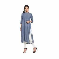 Ladies Long Designer Kurta Suit