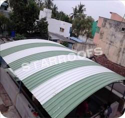 Arch Type Curved Roofing Works