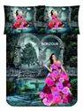 Bonjour Bed Sheet Rose Petal
