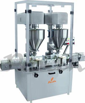 Semi Automatic Auger Type Powder Filling Machine