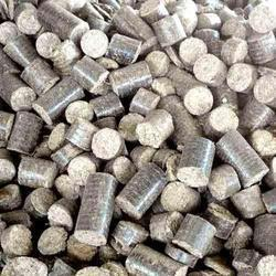 Groundnut Shell Biomass Briquette