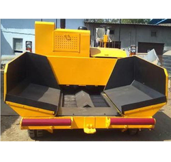 Mechanical and Sensor Paver Finisher