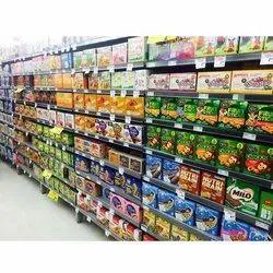 9 Shelves Retail Display Rack
