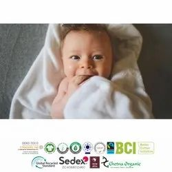 Organic Baby Beach Towel