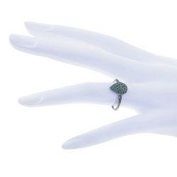 Emerald Gemstone Pear Shape Ring