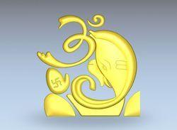 Om Ganesha Artcam Relief