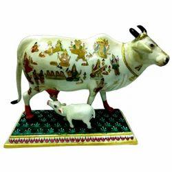 Meena Paoti Cow With Children