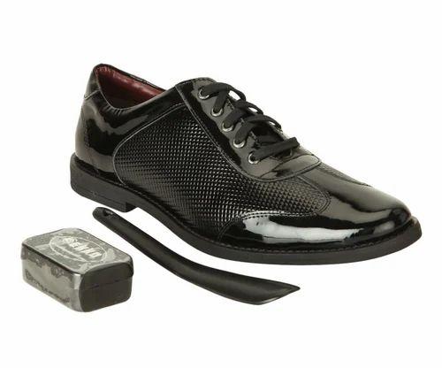 cca03978cb34 Men Shoes - Gekko Patent Leather Black Shoes Manufacturer from New Delhi