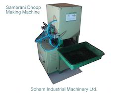Sambrani Dhoop Making Machine