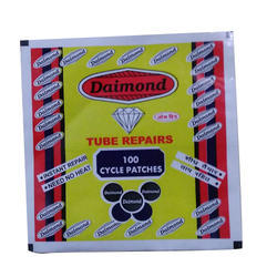 Cycle Patches Packaging Pouch