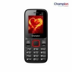 Champion X2 STYLE (Dual Sim,Red)