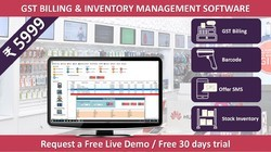 GST Billing, Inventory and Accounting Management Software at Rs 5999